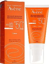 Parfüm, Parfüméria, kozmetikum Napvédő krém arcra - Avene Eau Thermale Sun Cream SPF50