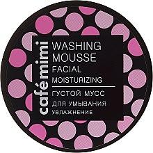 "Parfüm, Parfüméria, kozmetikum Sűrű arclemosó mousse ""Hidratálás"" - Cafe Mimi Washing Mousse Facial Moisturizing"