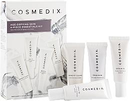 Parfüm, Parfüméria, kozmetikum Szett - Cosmedix Age Defying Skin 4-Piece Essentials Kit (f/cleanser/15ml + f/ser/15ml + f/ser/15ml + f/cr/15ml)