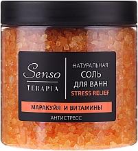 """Parfüm, Parfüméria, kozmetikum Természetes fürdősó """"Maracuja és vitaminok"""" - Senso Terapia Stress Relief Salt"""