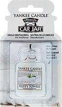 Parfüm, Parfüméria, kozmetikum Autóillatosító - Yankee Candle Car Jar Ultimate Fluffy Towels