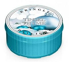 Parfüm, Parfüméria, kozmetikum Teamécses - Kringle Candle Daylight Tinsel Thyme