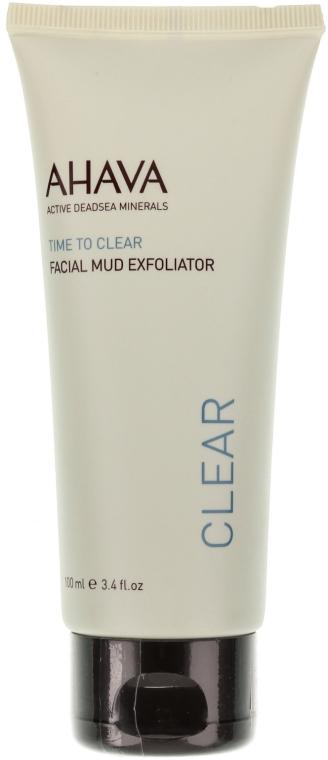 Arctisztító maszk - Ahava Time To Clear Facial Mud Exfoliator — fotó N2