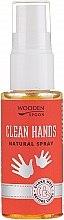 Parfüm, Parfüméria, kozmetikum Kézfertőtlenítő spray - Wooden Spoon Clean Hands Natural Spray