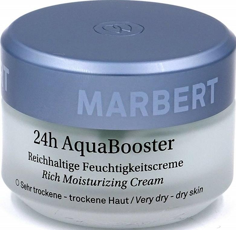 Krém száraz arcbőrre - Marbert 24h Aqua Booster Moisturizing Cream For Dry Skin