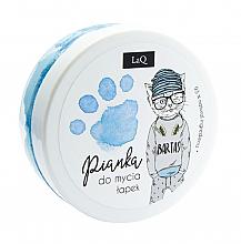 Parfüm, Parfüméria, kozmetikum Kéz- haj- és testtisztító hab, kék - LaQ Cleansing Foam