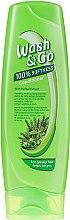 Parfüm, Parfüméria, kozmetikum Növényi kondicionáló zsíros hajra - Wash&Go