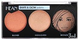 Parfüm, Parfüméria, kozmetikum Modellező sminkpaletta - Hean Shape & Glow Palette