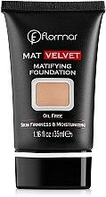 Parfüm, Parfüméria, kozmetikum Alapozó krém - Flormar Mat Velvet Matifying Foundation