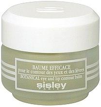Parfüm, Parfüméria, kozmetikum Szemkörnyék és ajakápoló balzsam - Sisley Baume Efficace Botanical Eye and Lip Contour Balm
