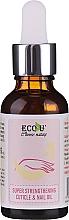 Parfüm, Parfüméria, kozmetikum Erősítő kutikula- és körömolaj - Eco U Super Strengthening Cuticle & Nail Oil