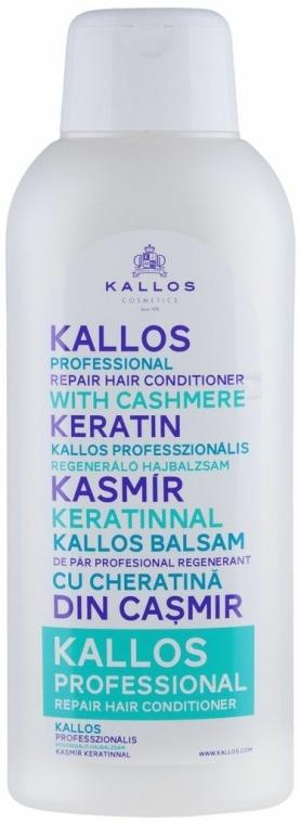 Helyreállító hajkondicionáló - Kallos Cosmetics Repair Hair Conditioner With Cashmere Keratin