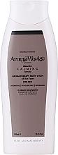 "Parfüm, Parfüméria, kozmetikum Tusoló gél férfiaknak ""Nyugalom"" - AromaWorks Men's Calming Body Wash"