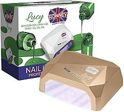 Parfüm, Parfüméria, kozmetikum CCFL+LED lámpa, arany - Ronney Professional Lucy CCFL + LED 36W (GY-LCL-021) Lamp