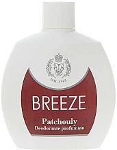 Parfüm, Parfüméria, kozmetikum Breeze Squezee Deodorante Patchouly - Testdezodor