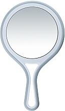 Parfüm, Parfüméria, kozmetikum Kétoldalas tükör nyéllel, d 12,5 cm - Titania