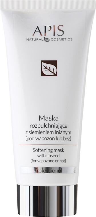 Bőrpuhító maszk lenolajjal - APIS Professional Softening Mask With Linseed