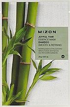 Parfüm, Parfüméria, kozmetikum Szövetmaszk bambusz kivonattal - Mizon Joyful Time Essence Mask Bamboo