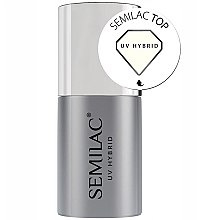 Parfüm, Parfüméria, kozmetikum Fedő géllakk - Semilac UV Hybrid