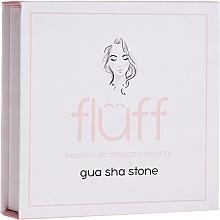 Parfüm, Parfüméria, kozmetikum Arcmasszírozó kő, rózsaszín - Fluff Gua Sha Stone