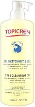 Parfüm, Parfüméria, kozmetikum Tisztító gél testre 2 az 1 -ben - Topicrem Soins Bebe Bio Gel Nettoyant