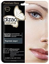 """Parfüm, Parfüméria, kozmetikum Boto-arc-, nyak és szemhéjmaszk """"Fekete kaviár"""" - Dizao Natural"""