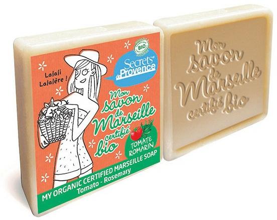 Szappan szett - Secrets De Provence My Marseille Soap Tomato-Rosemary (2x100g) (2 x 100 g)