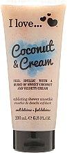 Parfüm, Parfüméria, kozmetikum Testradír - I Love... Coconut & Cream Velvety Hydrates Exfoliating Shower Smoothie