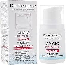 Parfüm, Parfüméria, kozmetikum Aktív ránctalanító krém bőrpirosodásra hajlamos bőrre - Dermedic Angio Preventi Active Anti-Wrinkle Night