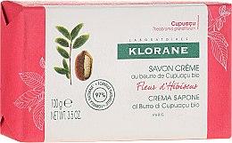 Parfüm, Parfüméria, kozmetikum Szappan - Klorane Cupuacu Hibiscus Flower Cream Soap