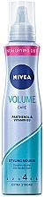 """Parfüm, Parfüméria, kozmetikum Hajhab keratin védelemmel """"Látványos dús hatás"""" - Nivea Hair Care Volume Sensation Styling Mousse"""