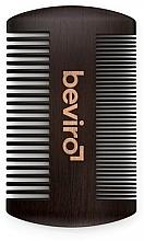 Parfüm, Parfüméria, kozmetikum Szakáll kefe - Beviro Pear Wood Beard Comb