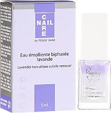 Parfüm, Parfüméria, kozmetikum Kétfázisú kutikula eltávolító szer - Peggy Sage Lavender Two-Phase Cuticle Remover