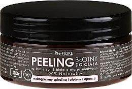 Parfüm, Parfüméria, kozmetikum Testpeeling szpirulinával, fügekaktusz olajjal és savval - E-Fiore Body Peeling