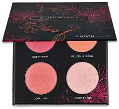 Parfüm, Parfüméria, kozmetikum Arcpirosító paletta - London Copyright Magnetic Face Powder Blush Palette