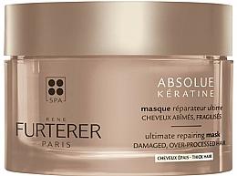 Parfüm, Parfüméria, kozmetikum Helyreállító maszk sűrű hajra - Rene Furterer Absolue Keratine Thick Hair Mask