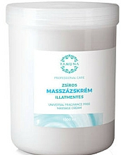 Parfüm, Parfüméria, kozmetikum Univerzális masszázskrém, illatmentes - Yamuna Massage Cream