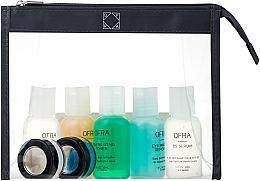 Parfüm, Parfüméria, kozmetikum Szett - Ofra Skin Care Kit Oily (cleanser/30ml + f/ton/30ml + eye/remover/30ml + ser/30ml + f/lot/30ml + b/scrub/7ml + f/mask/7ml + bag)