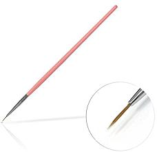 Parfüm, Parfüméria, kozmetikum Körömdíszítő ecset, 6 mm Pink - Silcare Brush 0