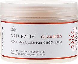 Parfüm, Parfüméria, kozmetikum Testápoló balzsam - Naturativ Cooling & Illuminating Body Balm