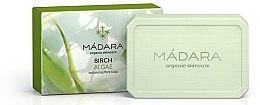 """Parfüm, Parfüméria, kozmetikum Normalizáló arcszappan """"Nyír és moszat """" - Madara Cosmetics Birch & Algae Soap"""