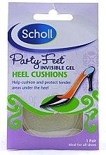 Parfüm, Parfüméria, kozmetikum Láthatatlan ütésálló géles talpbetét - Scholl Party Feet Heel Cushions