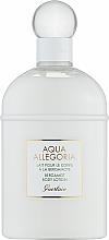 Parfüm, Parfüméria, kozmetikum Guerlain Aqua Allegoria Bergamote Calabria - Testápoló