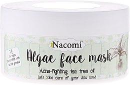 "Parfüm, Parfüméria, kozmetikum Alginát arcmaszk ""Zöld tea"" - Nacomi Professional Face Mask"
