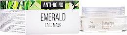 Parfüm, Parfüméria, kozmetikum Természetes smaragd fiatalító arcmaszk - SM Collection Crystal Emerald Anti-Aging Face Mask