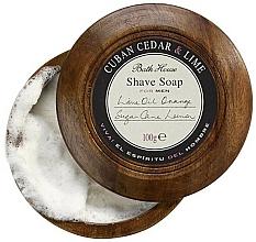Parfüm, Parfüméria, kozmetikum Bath House Cuban Cedar & Lime - Borotvaszappan