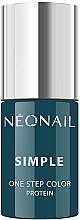 Parfüm, Parfüméria, kozmetikum Gél körömlakk - NeoNail Simple One Step Color Protein