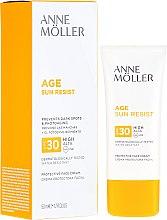 Parfüm, Parfüméria, kozmetikum Napvédő krém - Anne Moller Age Sun Resist Protective Face Cream SPF30
