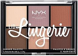 Parfüm, Parfüméria, kozmetikum Szemhéjfesték paletta - NYX Professional Makeup Lingerie Shadow Palette