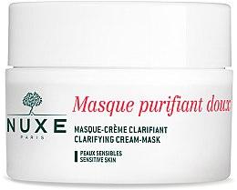 Parfüm, Parfüméria, kozmetikum Arctisztító krém-maszk - Nuxe Clarifying Cream-Mask With Rose Petals